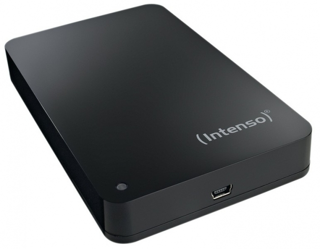 "Mini test twardego dysku Intenso 2,5"" 1TB USB 3.0"